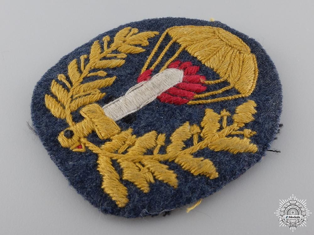 A Second War Italian Paratrooper Badge