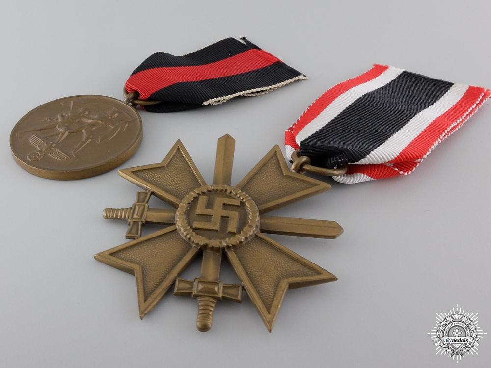 Two Second War German Awards
