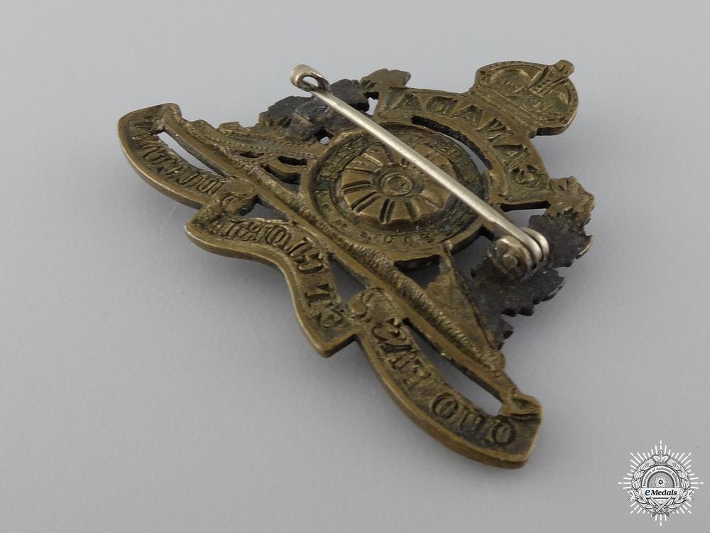 WWI 69th Overseas Field Battery Collar Badge; 2nd Pattern