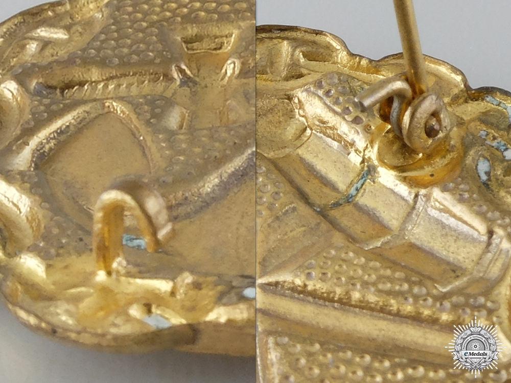 A First War Gold Grade Naval Wound Badge