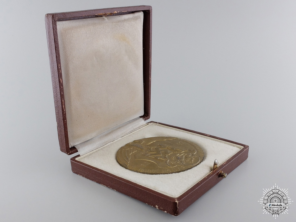 An NSDAP Göttingen Table Medal with Case; M/183