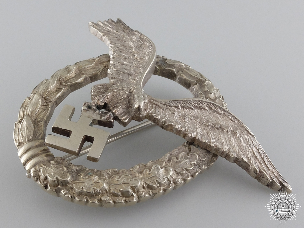 An Early Luftwaffe Pilot's Badge by IMME