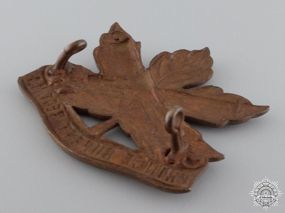 A Scarce Prince Rupert Machine Gun Regiment Cap Badge