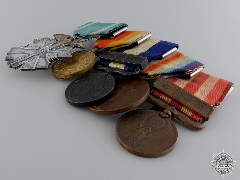 A Fine First War & Korean Annexation  Japanese Medal Bar