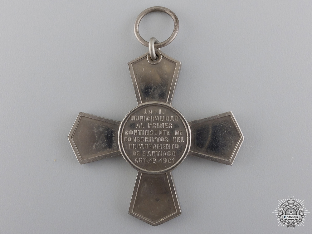 A 1901 Chilean Santiago Cross for the First Contingent
