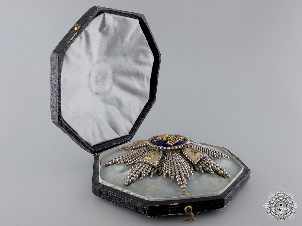 A Exquisite Royal Bavarian Merit Order of St. Michael; Grand Cross Star