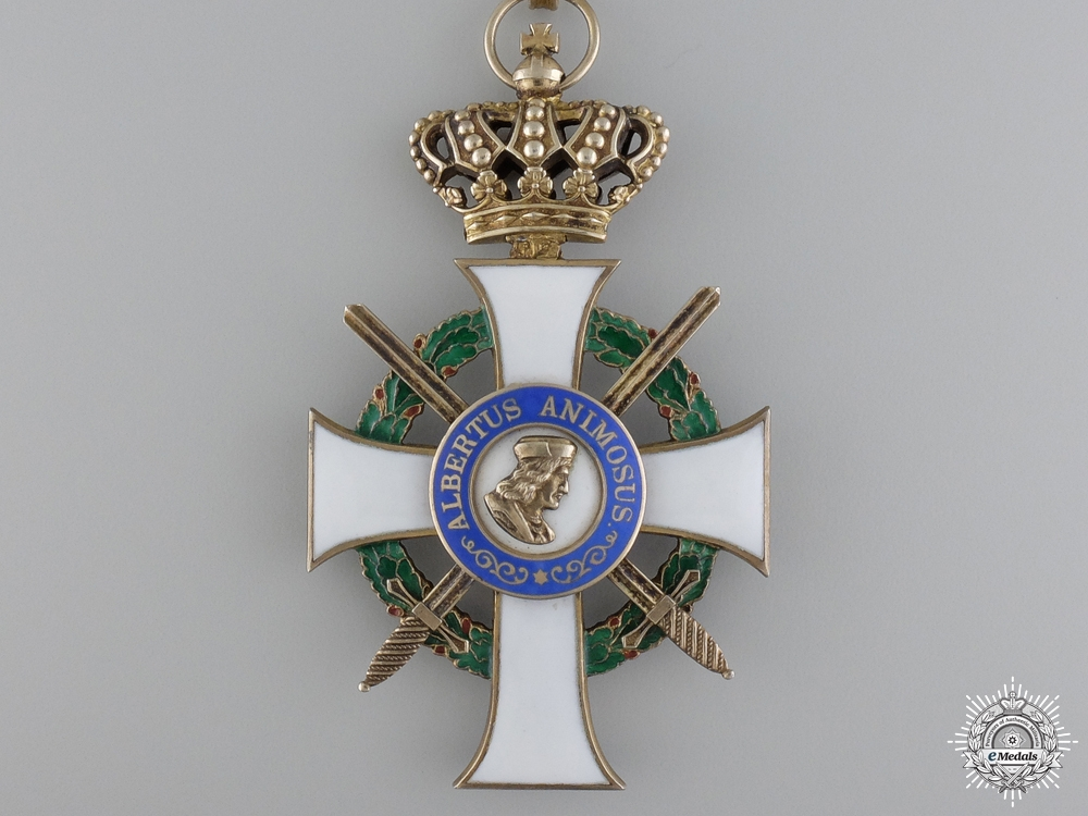 A Saxon Order of Albert to the Commander of the 234th Division
