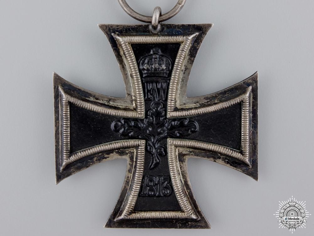 An Iron Cross Second Class 1914; Maker Marked V