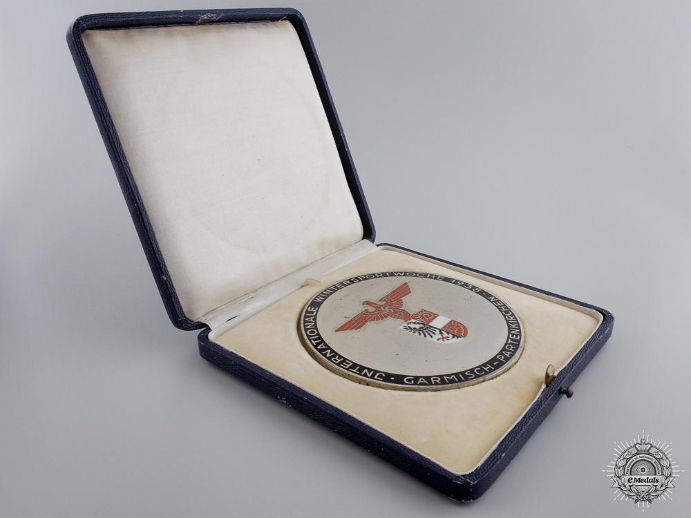 A German 1938 Ice Hockey Winner Award