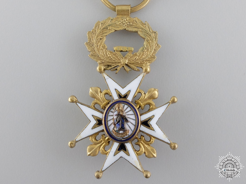A Spanish Order of Charles III; Reduced Size
