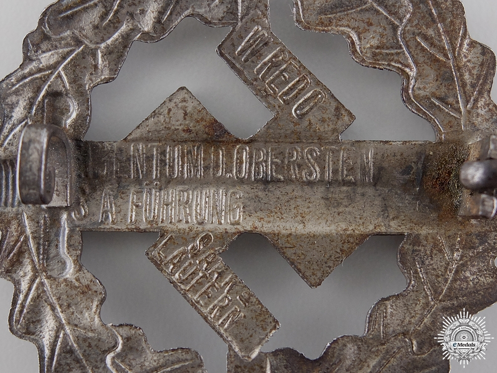 A Silver Grade SA Defence Badge