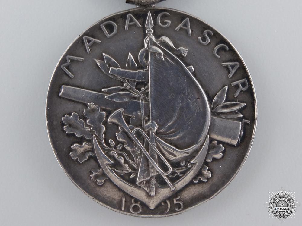 An 1895 French Madagascar Medal