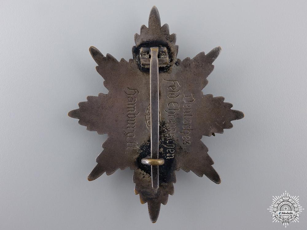 A First War Hamburg Honour Award