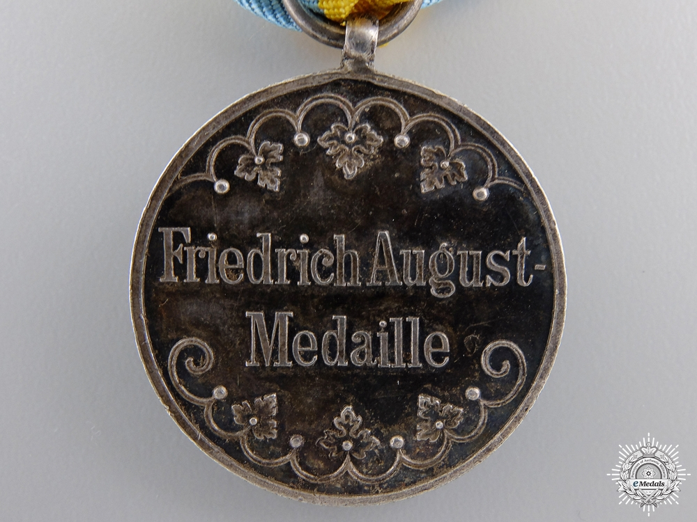 A Saxon Friedrich August Medal