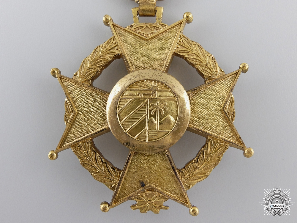 A Cuban Order of Military Merit; Fourth Class Cross