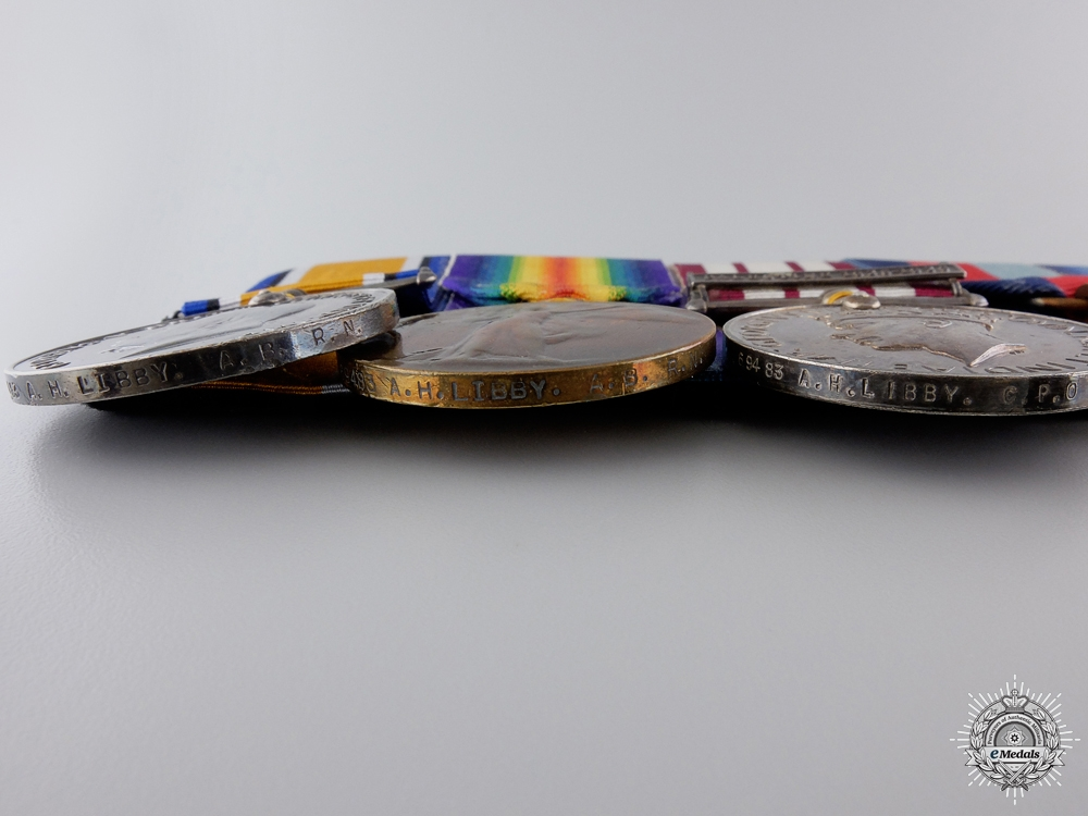 A First & Second War Group of Nine Awards to the Royal Navy