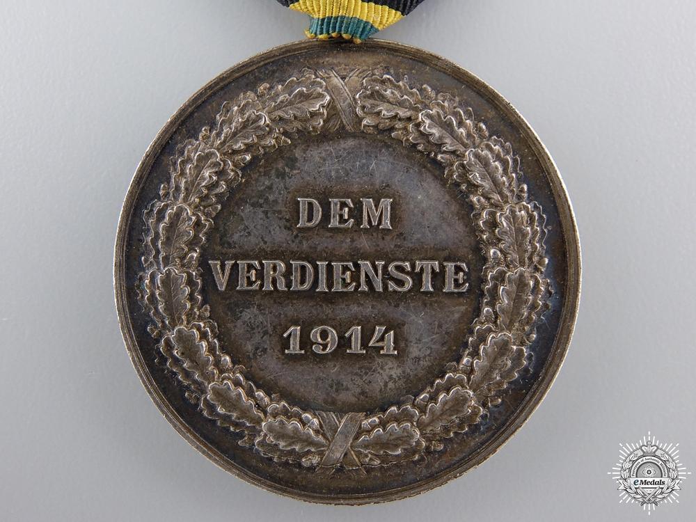 A 1914 Saxe-Weimar Silver Merit Medal