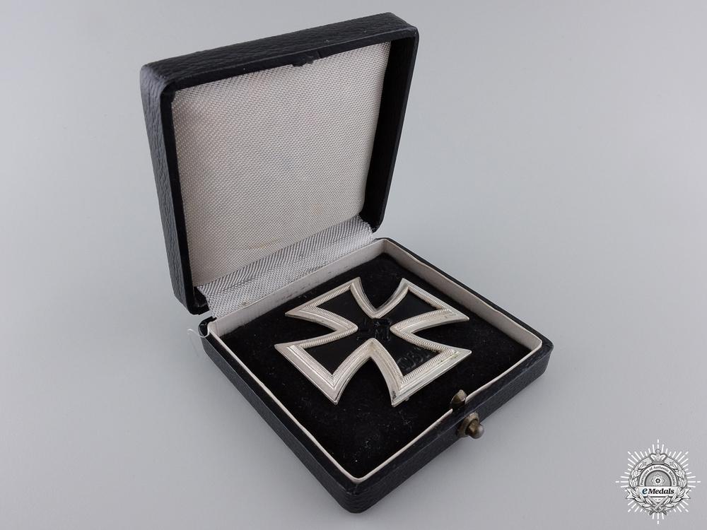A Mint Iron Cross First Class by Wilhelm Deumer