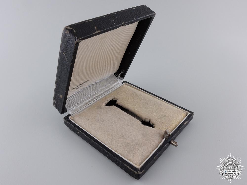 An Iron Cross 1st Class 1939 Case by Paul Maybauer