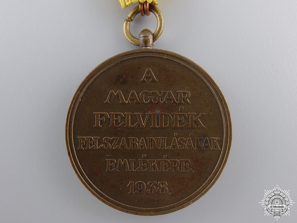 A 1938 Medal for the Liberation of Upper Hungary