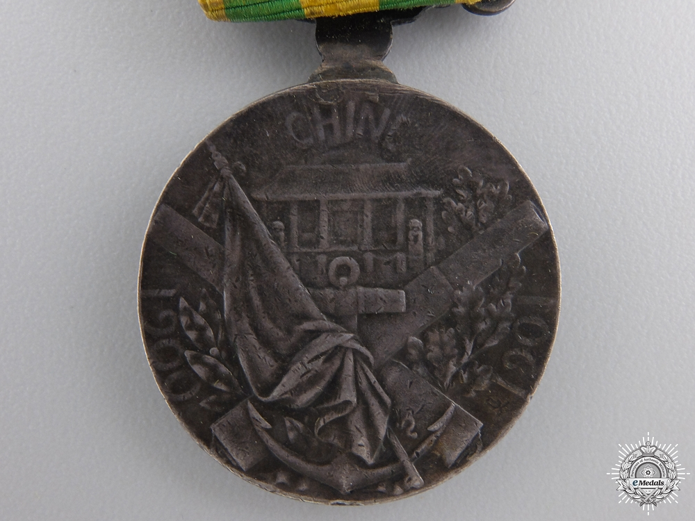 France. A 1900-1901 China Campaign Medal; George Lemaire