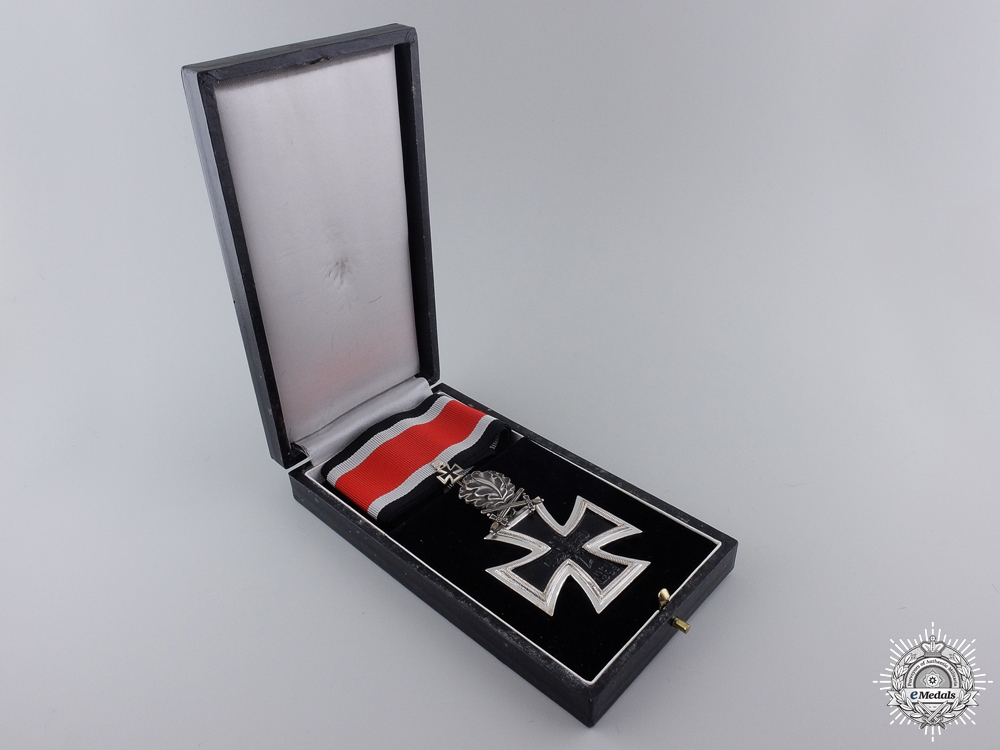 A 1957 Knight's Cross of the Iron Cross with Swords and Oak Leaves
