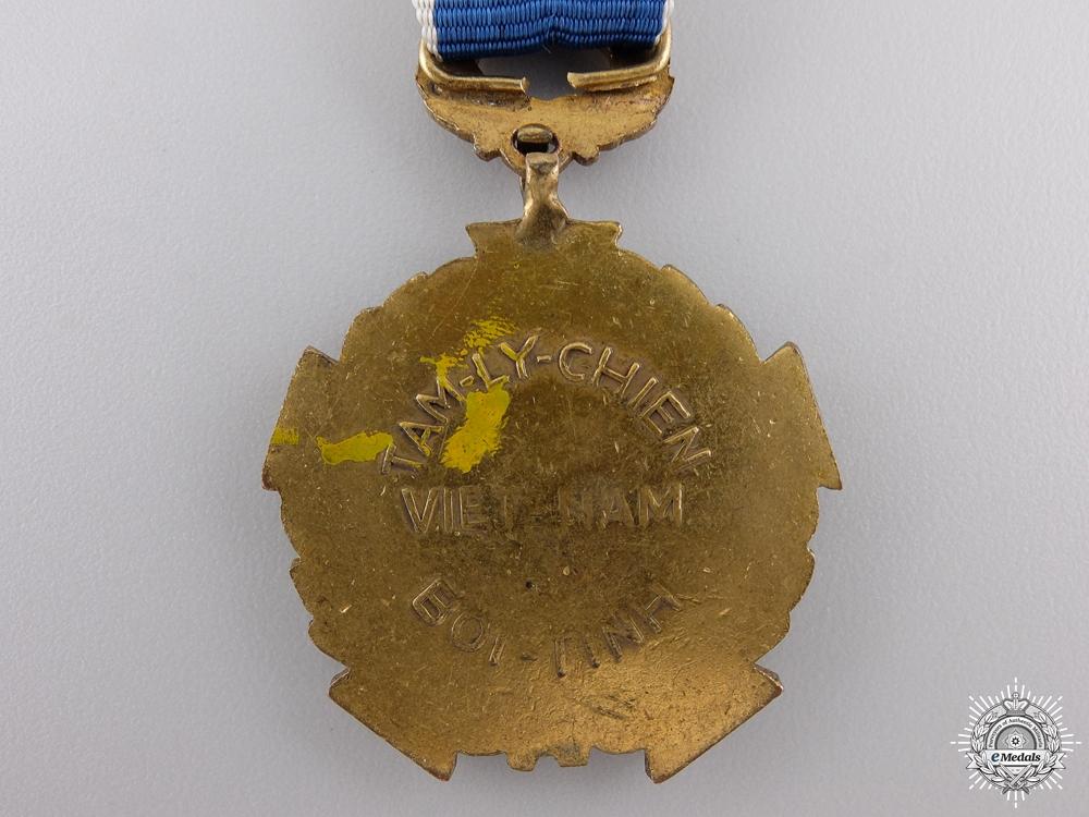 A Vietnamese Psychological Warfare Medal; 1st Class