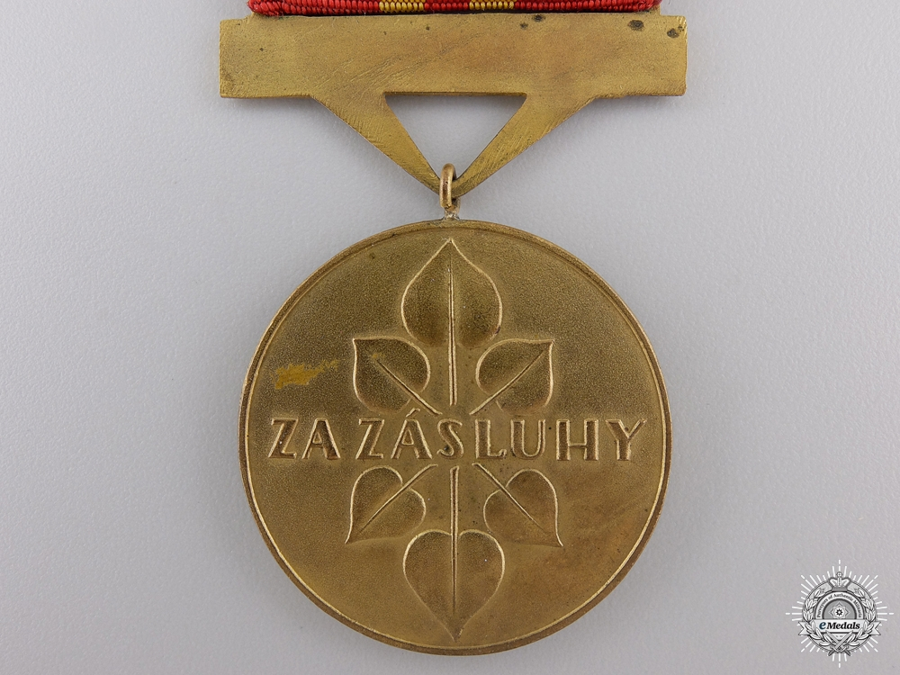 A Slovakian Order of the War Victory Cross; 5th Class