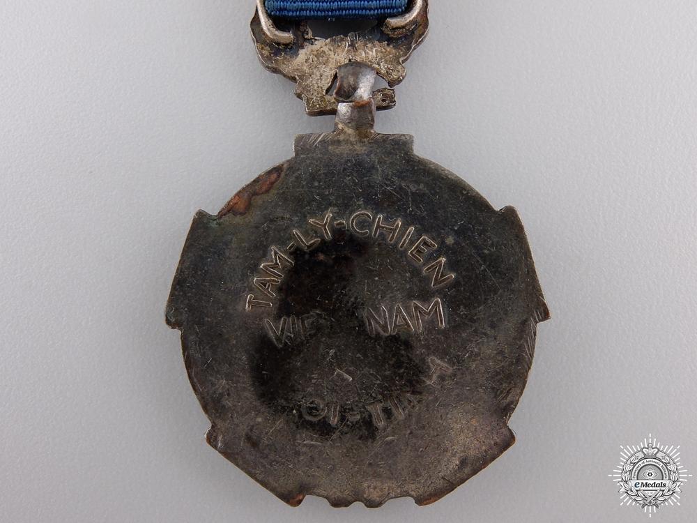 A Vietnamese Psychological Warfare Medal; 2nd Class