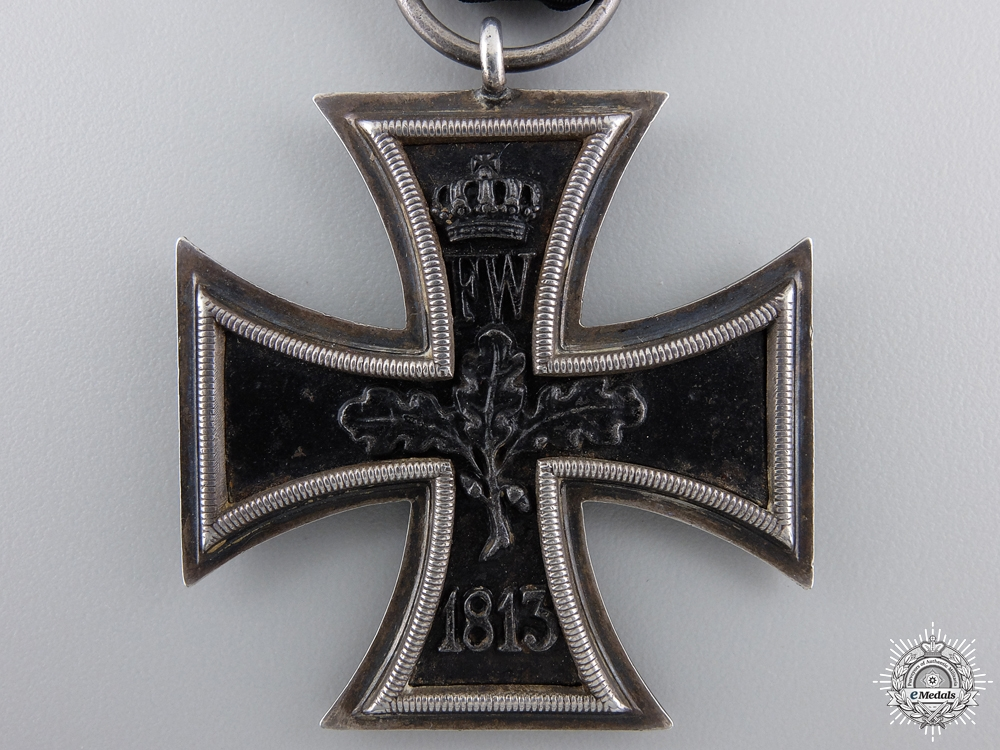 An Iron Cross Second Class 1870 by Godet