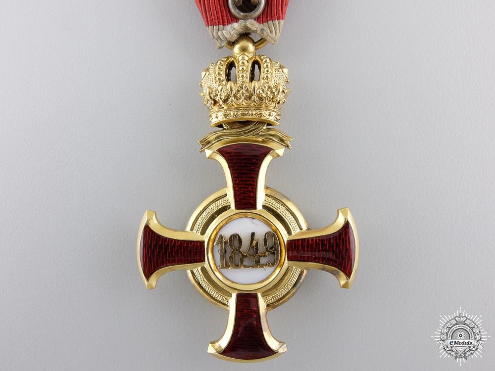 An Austrian Golden Cross of Merit with Crown by V.Mayer