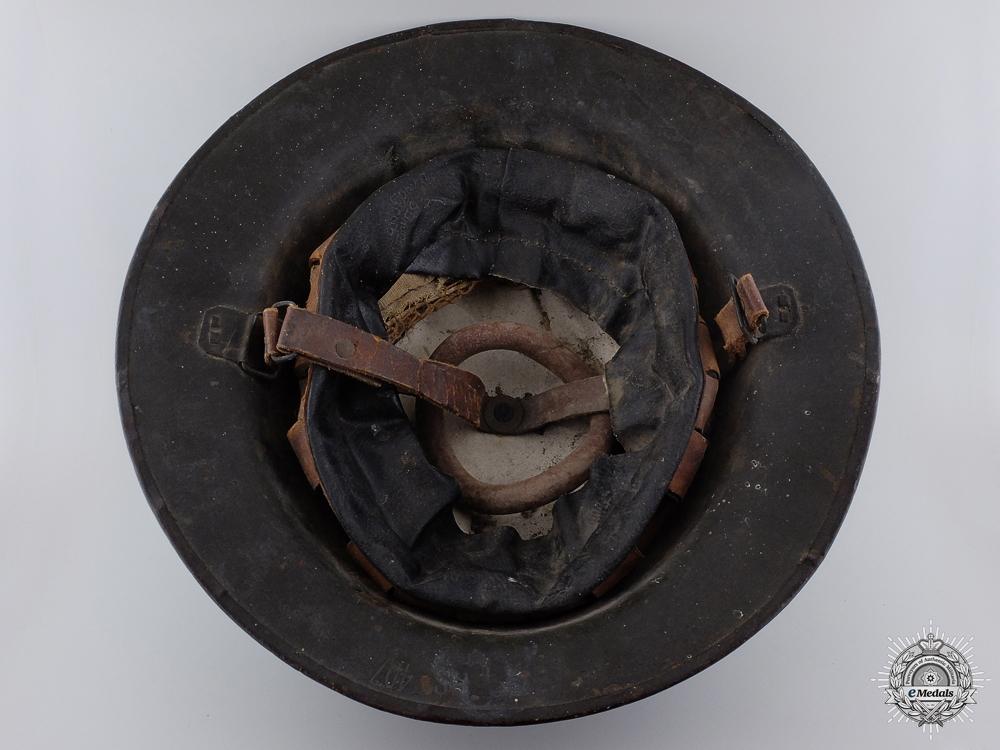 A First War Mark II 1st Battalion Canadian Helmet
