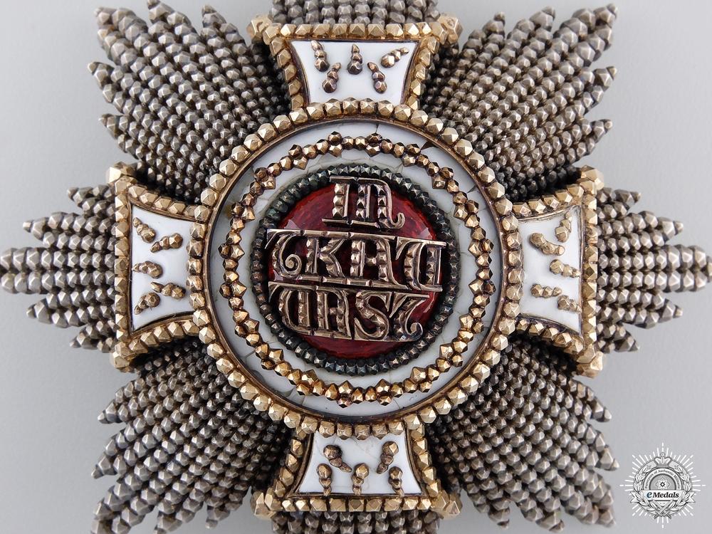 Bavaria, Kingdom. An Order of St. Hubert, Knight Grand Cross, by Gebr. Hemmerle, Munchen, c.1890