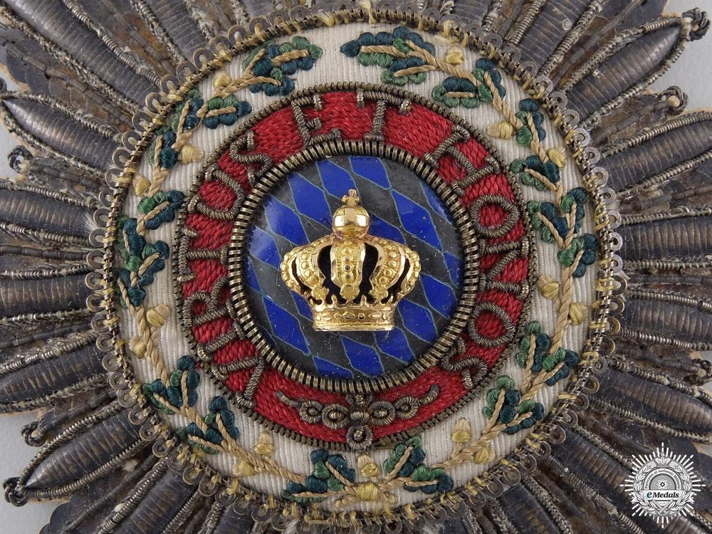A Bavarian Merit Order of the Bavarian Crown c.1830