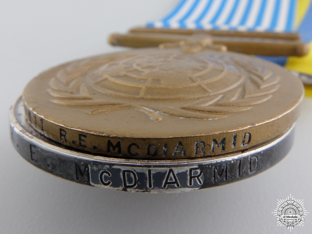 A Second War & Korea Medal Group to Captain McDiarmid