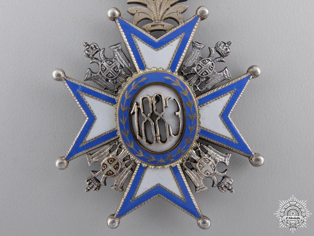 A First War Serbian Order of St. Sava; 5th Class