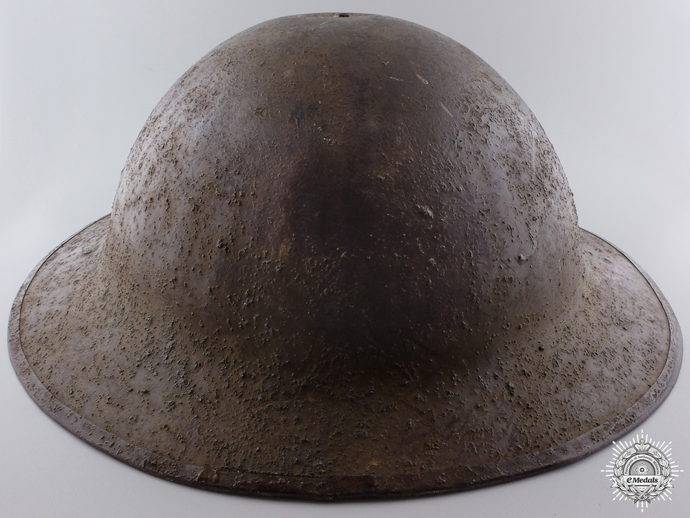 A First War Canadian Headquarters 10th Infantry Brigade; 4th Canadian Division Helmet