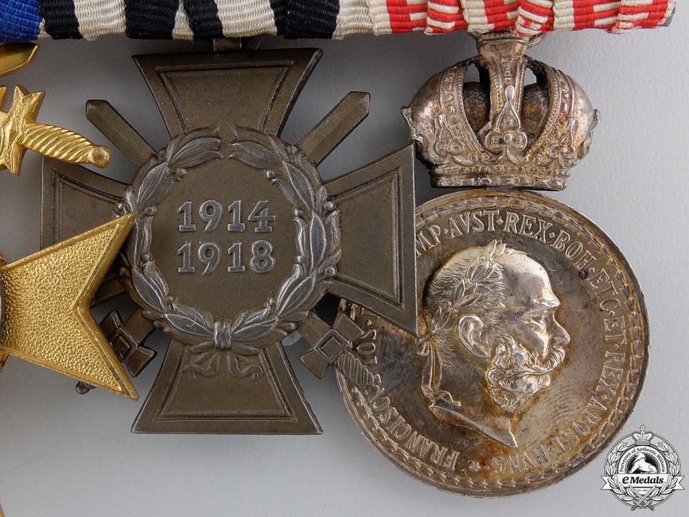 A First War Bavarian Medal Bar