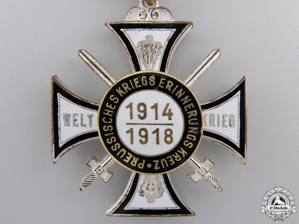 A German First War Veteran's Participant's Cross 1914-1918