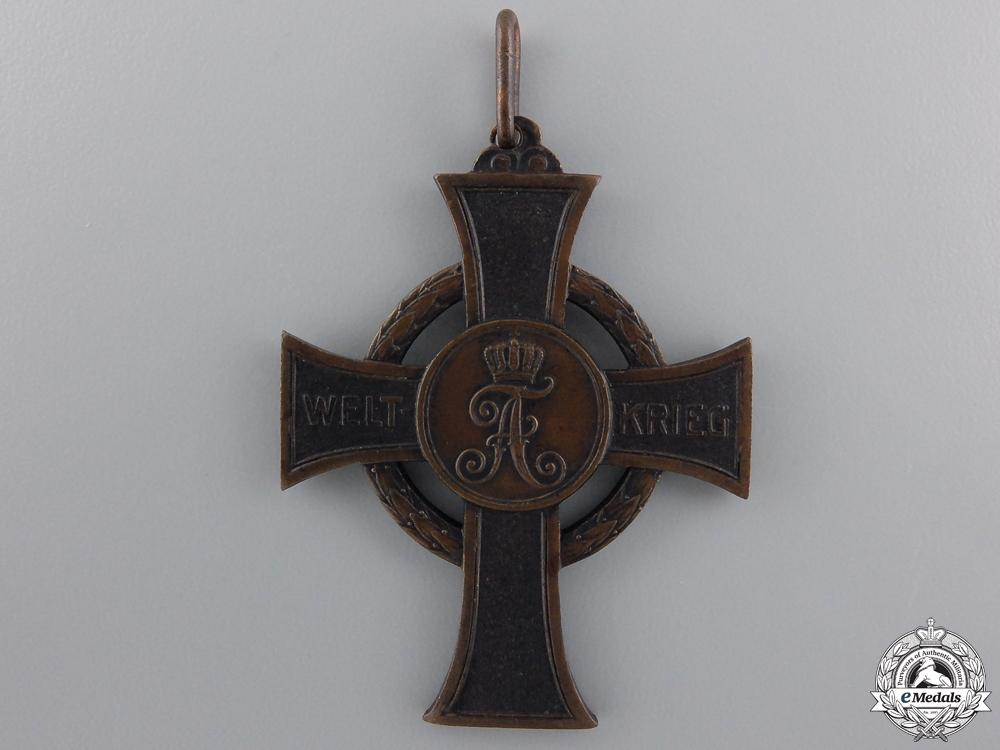 A 1915 Saxon War Merit Cross