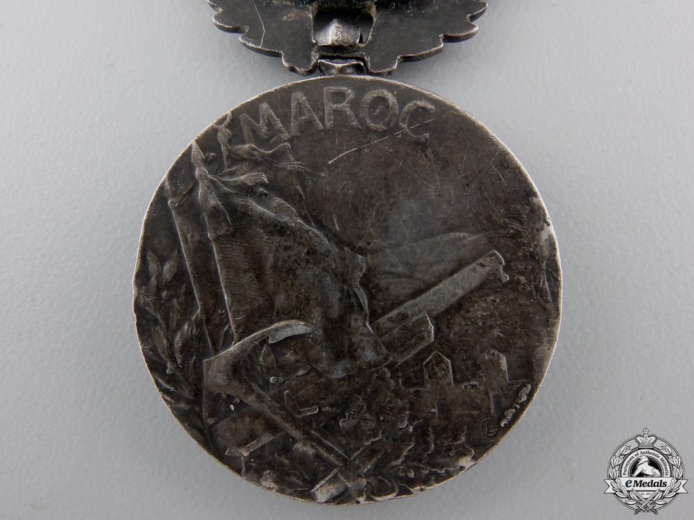 A French Colonial Medal for Morocco Service