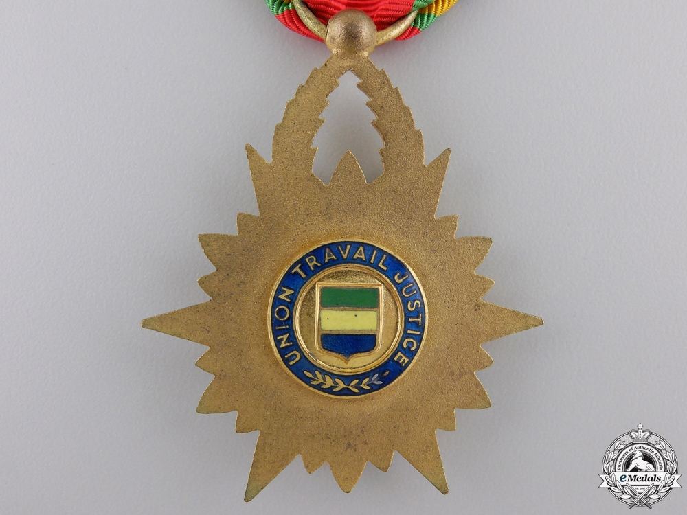 An Order of the Equatorial Star of Gabon; Knight