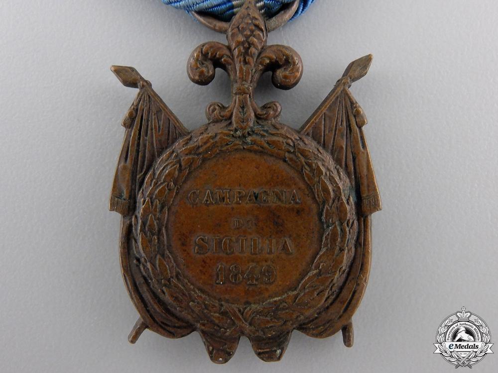 An Italian 1849 Sicilian Campaign Medal