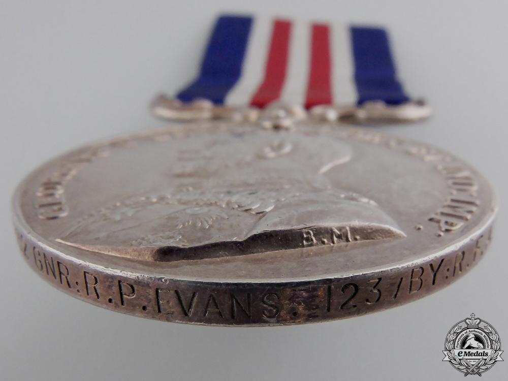 A 1917 Military Medal to the Royal Field Artillery