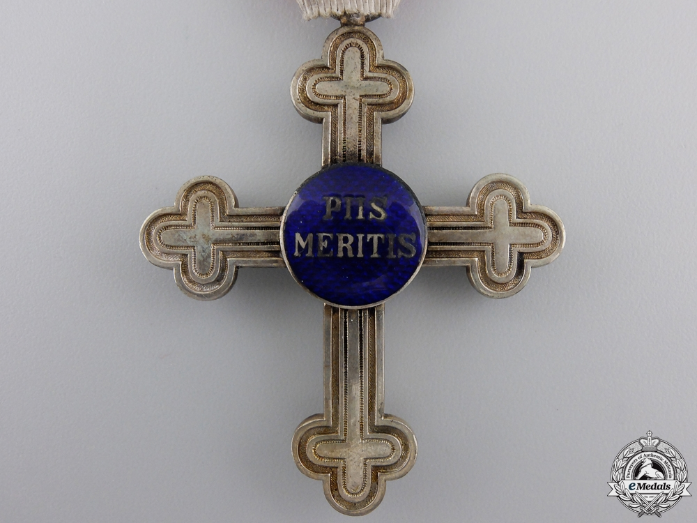 "An Austrian Merit Cross ""Piis Meritis"" for Military Chaplains"