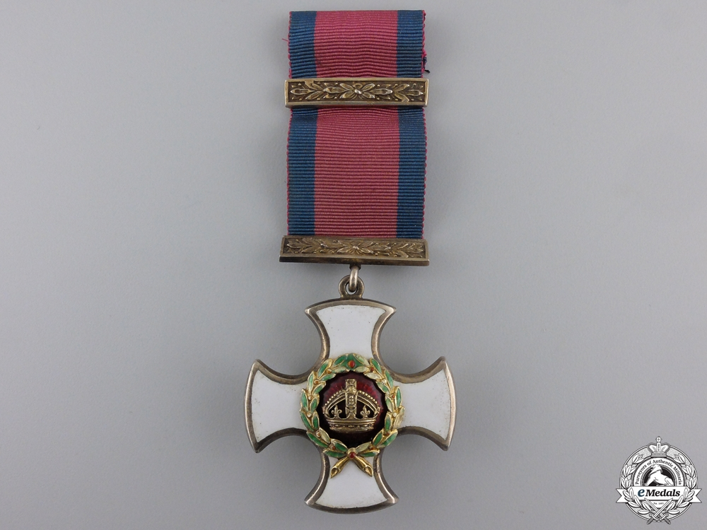 A  Distinguished Service Order to  Lieutenant-Colonel William F. T. Corrie