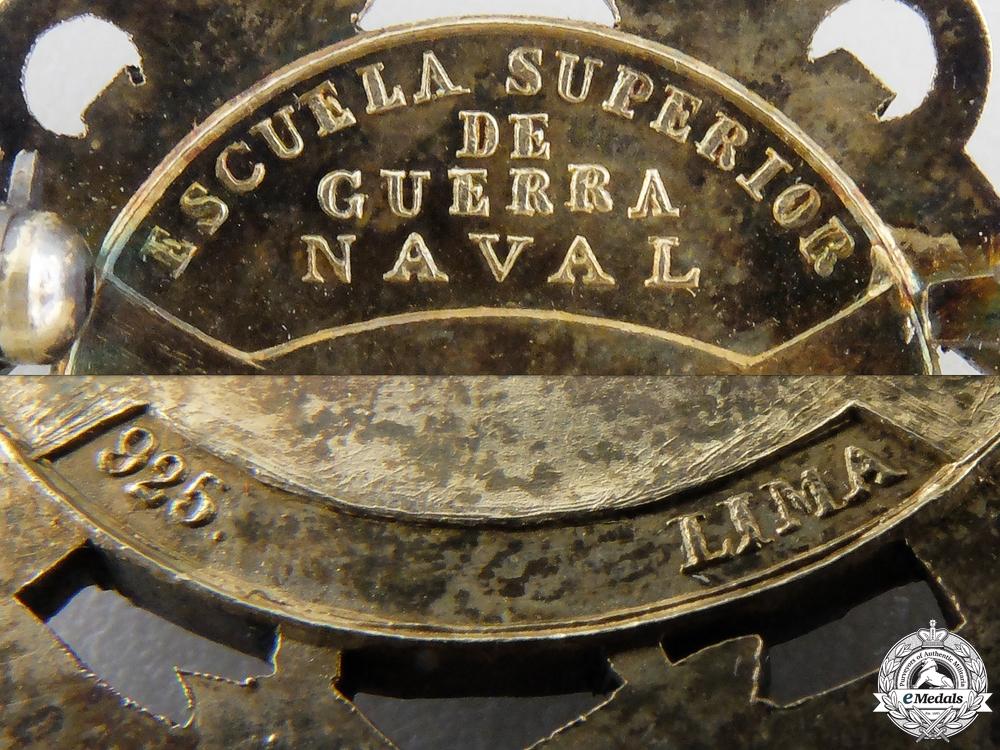 A Peruvian Naval Academy Award