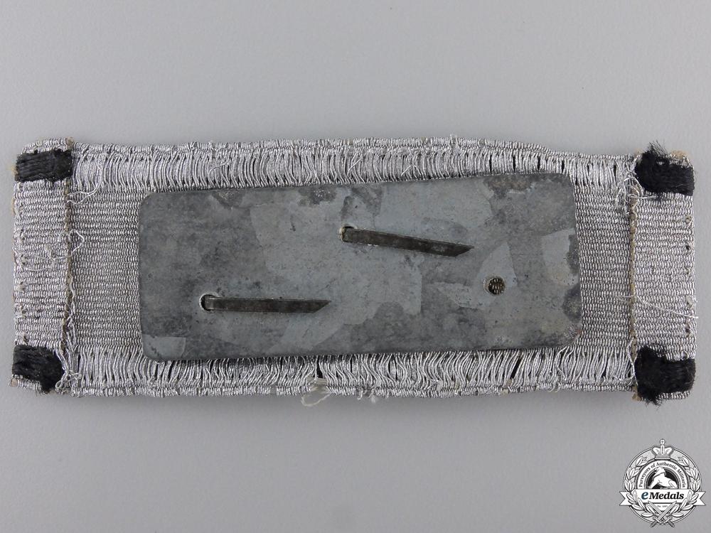A Tank Destruction Badge; Uniform Removed
