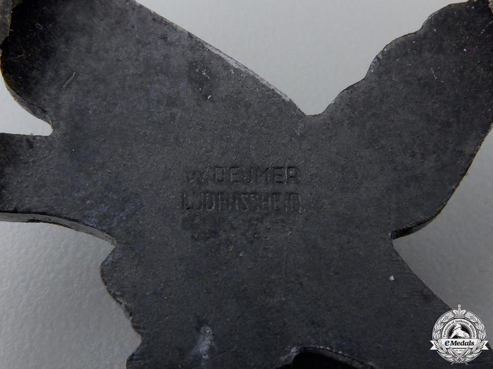 A Luftwaffe Air Gunner Badge by W. Deumer