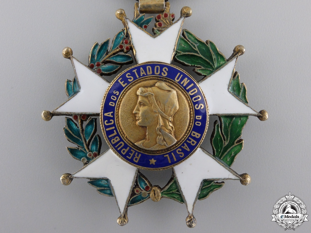 A Brazilian National Order of the Southern Cross' Commander